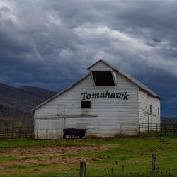 Tomahawk Barn on Jackson River Rd Monterey, Virginia