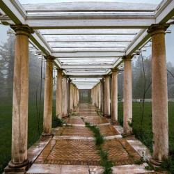 Pergola at Swannanoa Palace