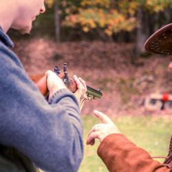 Steven Shooting Traditions Day Huntersville, WV