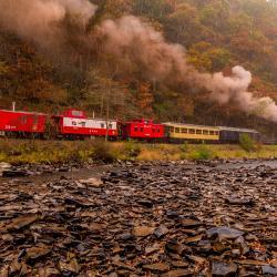 Durbin Rocket Railroad Train #6