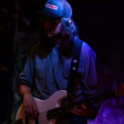 Evan Sarver WORKING on bass