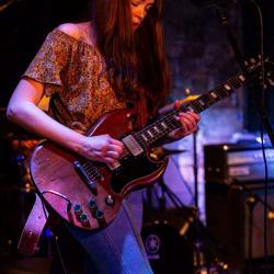 Heather Gillis jamming