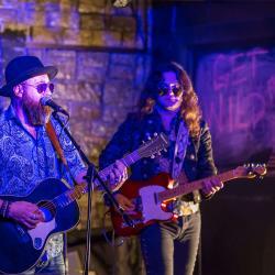 Moses Jones-Robert Johnson & Arda Bagcioglu jaming blues guitars