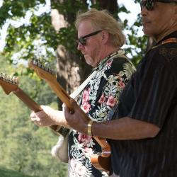 Johnny Rawls and Rob Hound Dog Baskerville New River Blues Festival