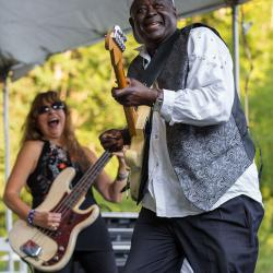 Ike Woods and Penny Queen Bee Zamagni New River Blues Festival