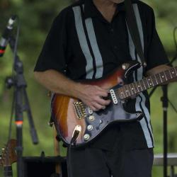 New River Blues Festival Guitarist Tony Fazio