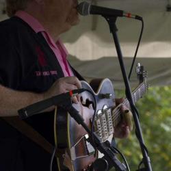 King Bees Guitarist Rob 'Hound Dog' Baskerville