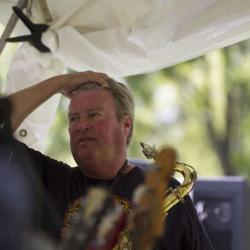 Big Mike Kincaid on Saxophone