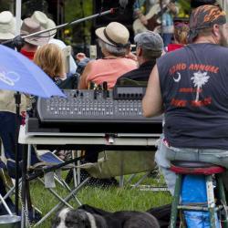 New River Blues Festival Sound Board