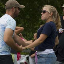 New River Blues Festival People Dancing