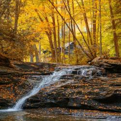 Mill Creek Falls at Kumbrabow State Park