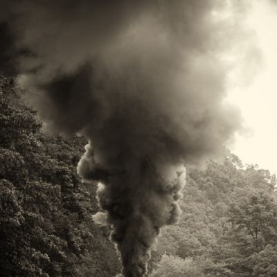 Cass Railroad Smoke Stack