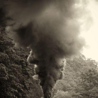 Cass Railroad Smoke Stack