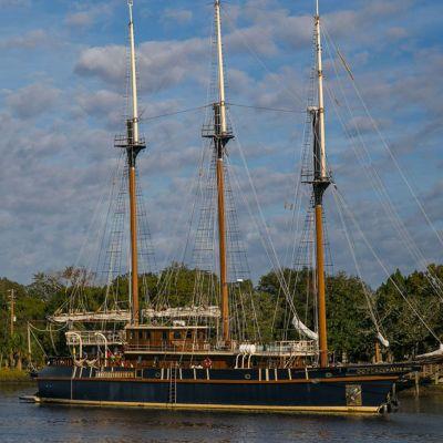 Cumberland Island Three-Masted Schooner