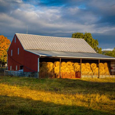 Hay Barn in Blue Grass VA
