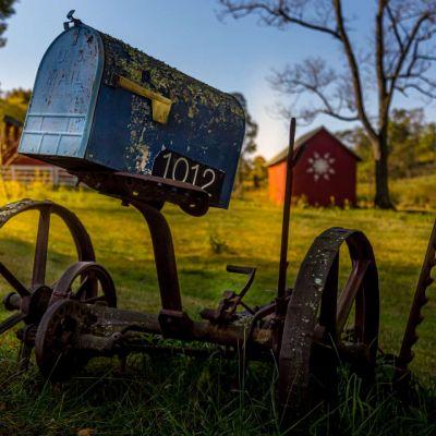 Mill Gap mailbox