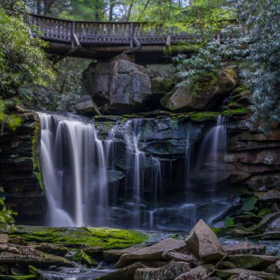 Elakala Falls Blackwater Falls State Park WV
