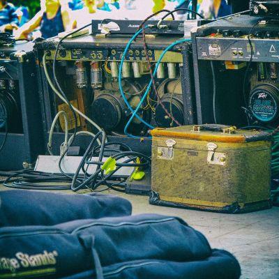 Guitar Amplifiers New River Blues Festival