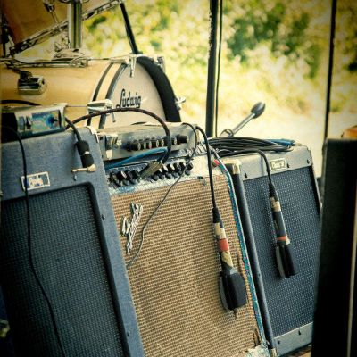 Guitars Amplifiers New River Blues Festival