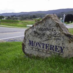 Monterey Town Sign