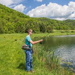 Fly Fishing Bath County Va Recreational Campground