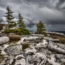Storm Clouds at Bear Rock in Dolly Sods Wilderness WV