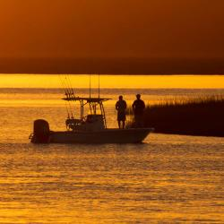 Cumberland Island National Seashore Ferry Trip Sunset