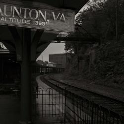 Staunton Virginia Train Station