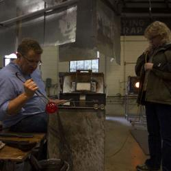 Sunspots Studios Glassblowing Staunton Virginia