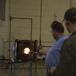 Sunspots Studios Glassblowing Staunton Virginia