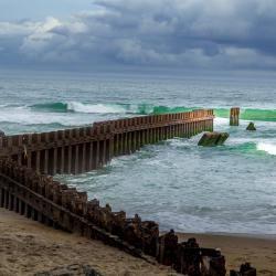 Cape Hatteras Beach Sea Wall