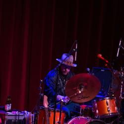 Drummer husband Aaron Haynes