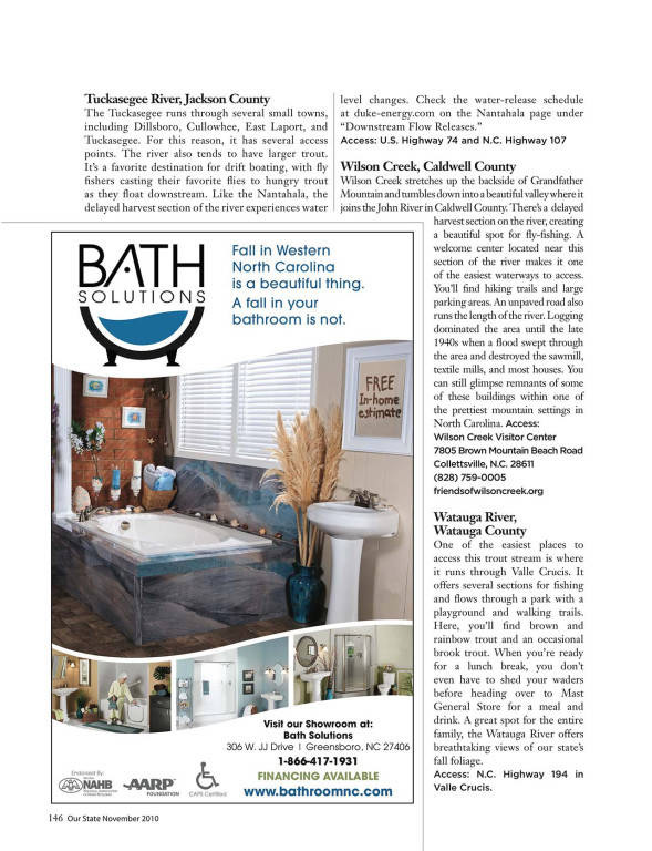 Troys Published Article in Our State Magazine